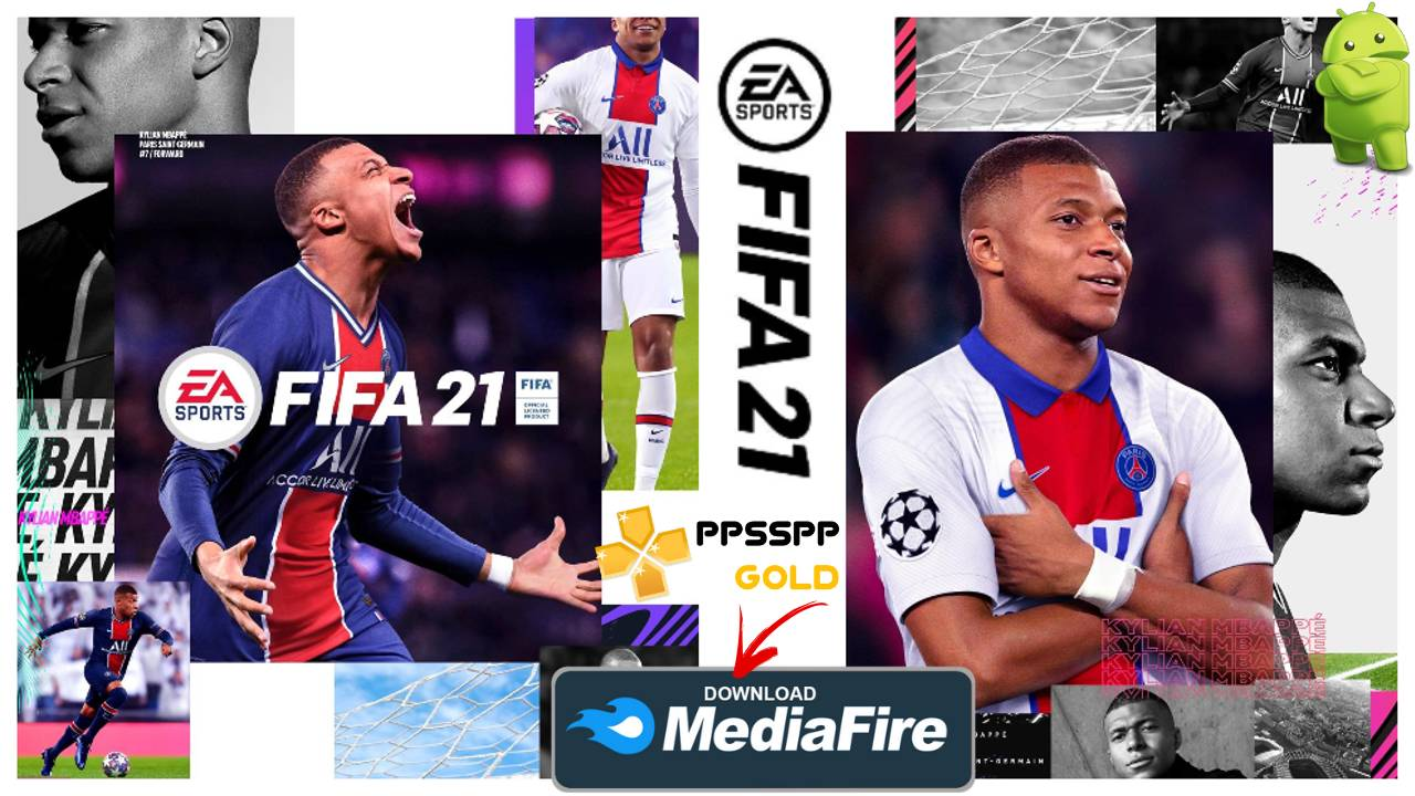 FIFA 21 iSO PPSSPP Offline 2021 for Android Download
