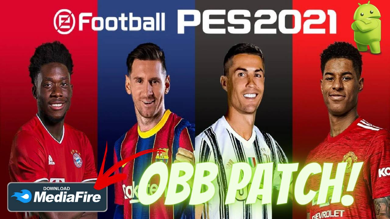 eFootball PES 2021 Android HD Graphics Patch Download