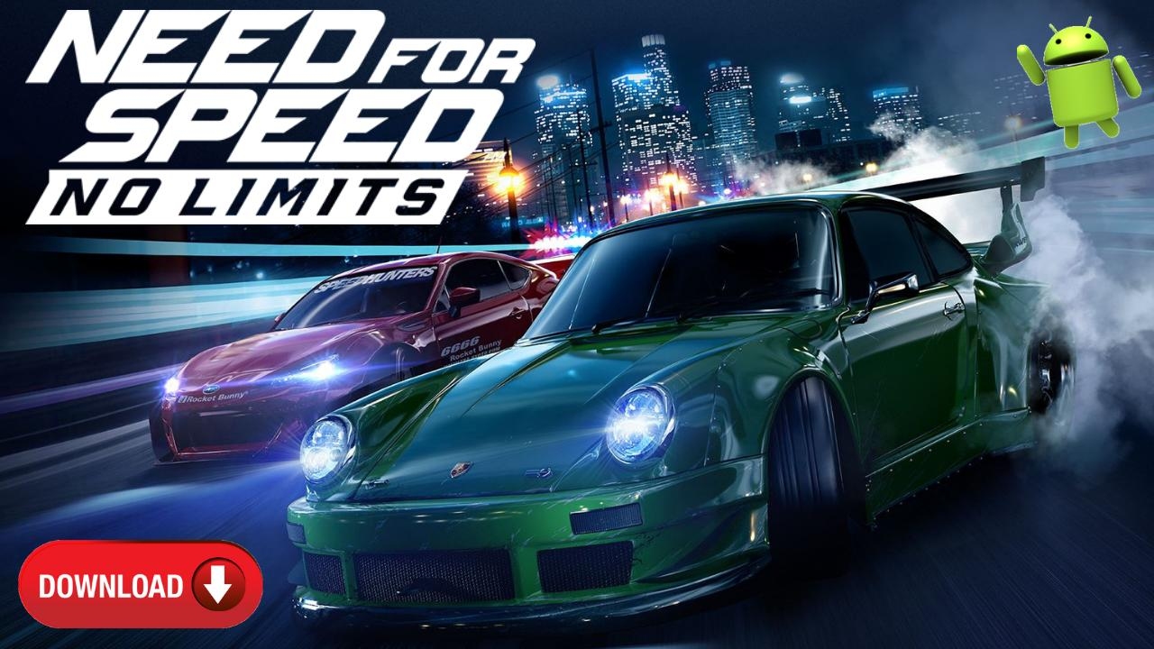 NFS Need for Speed No Limits Mod APK OBB Download