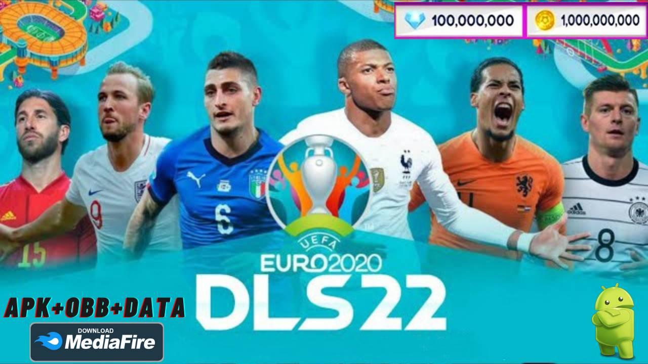 DLS 21 Mod APK Euro 2021 Unlocked Download