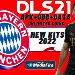 DLS 21 Mod APK Bayern Munich Kit 2022 Download