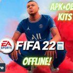 FIFA 22 Mod APK Data New Kits 2022 Download