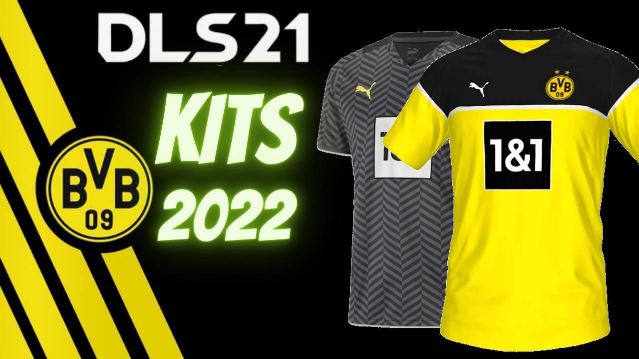 DLS 21 Borussia Dortmund Kits 2022 FTS