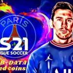 DLS 21 APK Messi PSG Profile Data Download