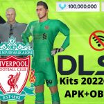 DLS 21 APK Mod New Liverpool Kits 2022 Download