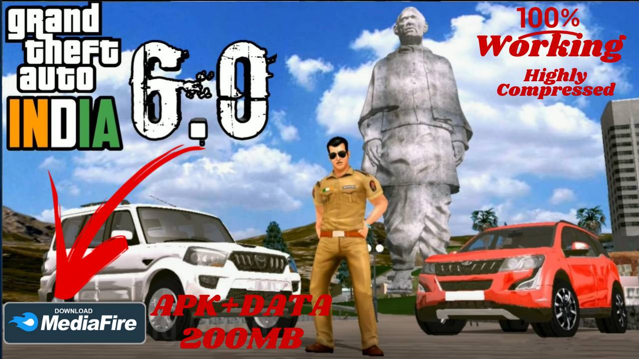 Grand Theft Auto GTA India 6 APK Android Download