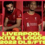 Liverpool Kits 2022 DLS Touch Soccer Kits Logo FTS