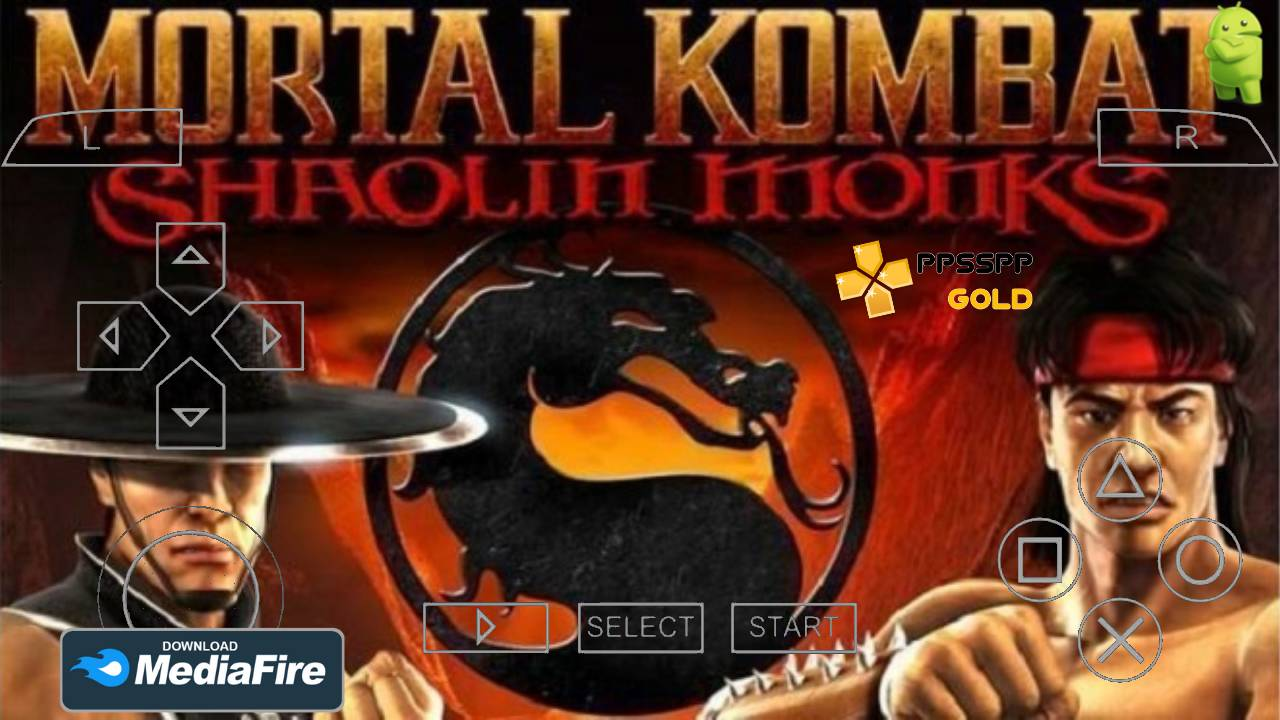 Mortal Kombat Shaolin Android PPSSPP Gold Download