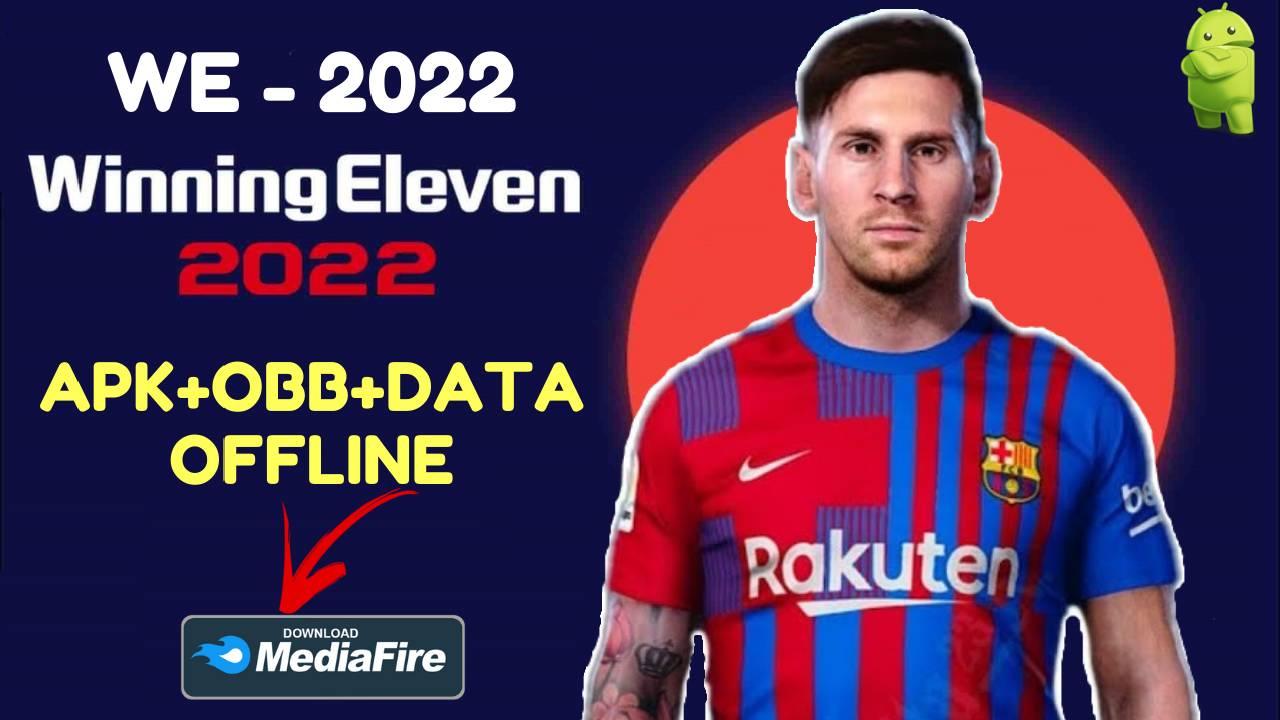 WE 22 - Winning Eleven 2022 Mod Apk Download