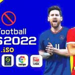 eFootball PES 2022 PPSSPP English New Kits Transfers Download